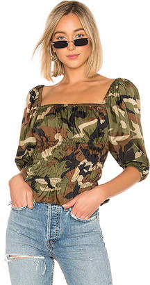 LPA Shirred Top