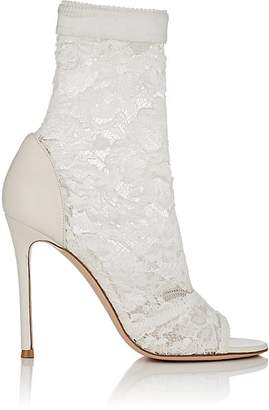 Gianvito Rossi Women's Missy Lace & Leather Ankle Boots