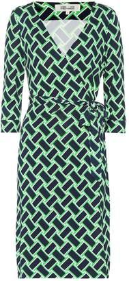Diane von Furstenberg New Julian printed silk wrap dress