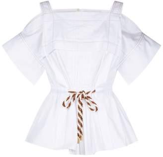 0e94321468cd6e White Cold Shoulder Tops For Women - ShopStyle UK
