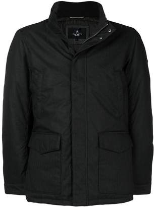Hackett concealed front padded jacket