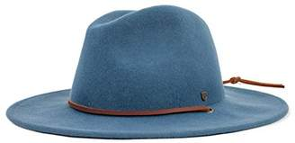 Brixton Men's Field Wide Brim Felt Fedora Hat