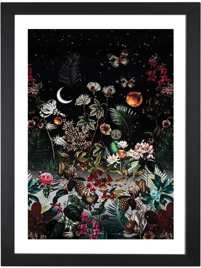 iCanvas Night (Framed)