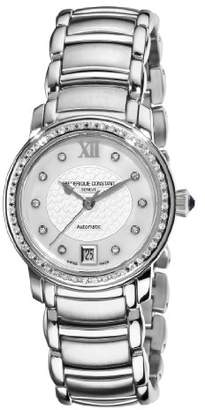 Frederique Constant Women's FC-303WHD2PD6B Ladies Automatic Mother-Of-Pearl Diamond Dial Watch