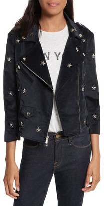 Women's Rebecca Minkoff Wes Star Stud Moto Jacket