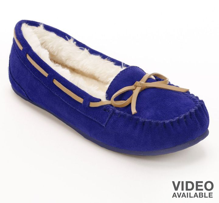 So ® suede moccasins - women