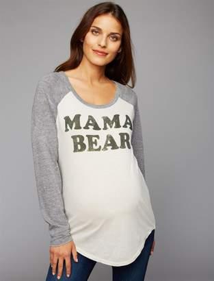 Chaser Mama Bear Maternity Tee