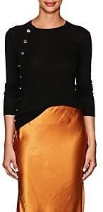 Altuzarra Women's Button-Detailed Wool Sweater - Black