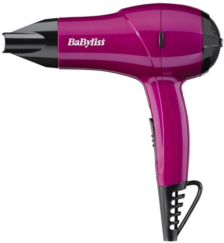 BaByliss 5282AU Nano 1200-watt Hairdryer - Pink