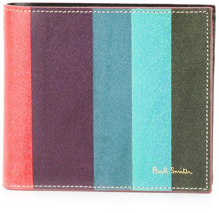 Paul Smith Paul Smith 'Artist Stripe' print wallet