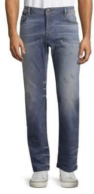 Diesel Distressed Washed Jeans