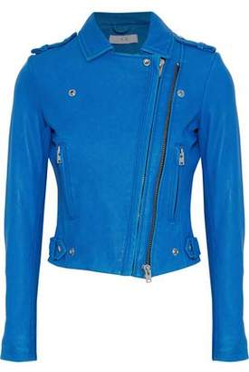 IRO Luigaspe Leather Biker Jacket