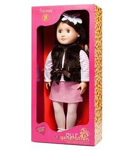 """Our Generation Sienna 18"""" Non Poseable Doll"""