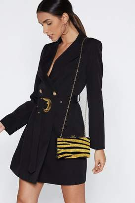 Nasty Gal WANT From Scratch Tiger Bag
