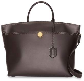cd7a6a73ccca Burberry Brown Top Handle Handbags - ShopStyle