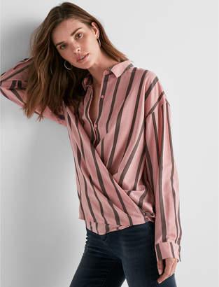 Lucky Brand Long Sleeve Stripe Button Down Shirt
