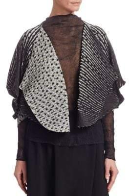 Issey Miyake Sunlight Dots Pleated Jacket