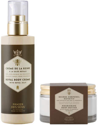 Panier Des Sens Honey Body Butter and Body Lotion Duo