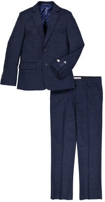 Isaac Mizrahi Gingham Printed Suit