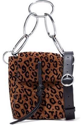 3.1 Phillip Lim Leigh Leopard-Print Suede Shoulder Bag