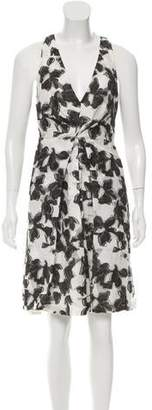 Thakoon Silk-Blend Sleeveless Dress