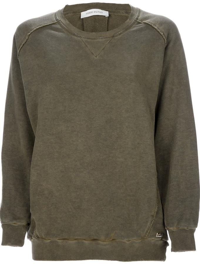 Balmain Pierre raised seam sweatshirt