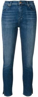 J Brand slim fit cropped jeans