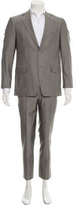 Versace Wool Blend Suit