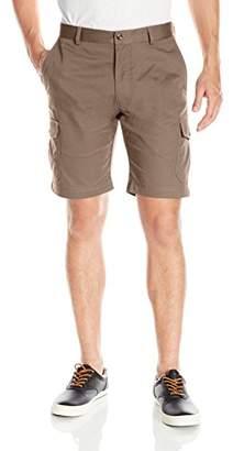 Louis Raphael s Men's Flat Front Cotton Blend Cargo Short