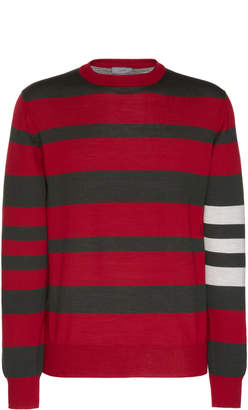 Lanvin Striped Wool Sweater