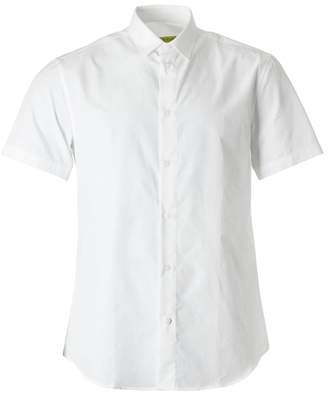 Versace All Over Logo Poplin Shirt