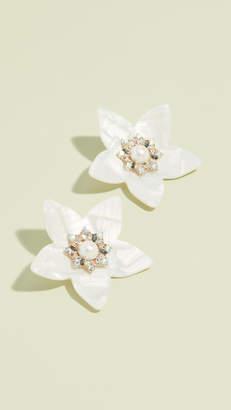 BaubleBar Oversized Flower Earrings