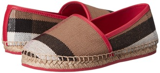 Burberry Kids - Peckfield Girl's Shoes $180 thestylecure.com