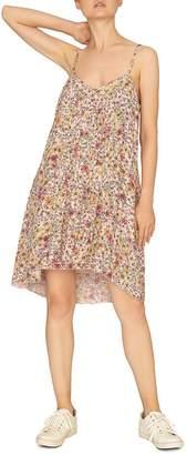Sanctuary Spring Ahead Floral-Print Trapeze Dress