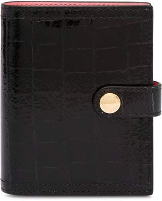 Miu Miu Croco-effect leather wallet