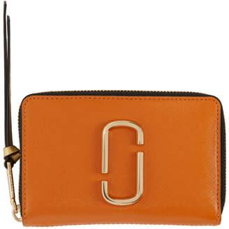 Marc Jacobs Orange Small Snapshot Wallet