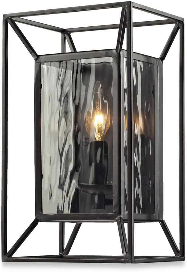 Bed Bath & Beyond Cubix 1-Light Wall Scone