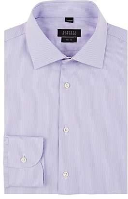 Barneys New York Men's Pinstriped Cotton Poplin Shirt
