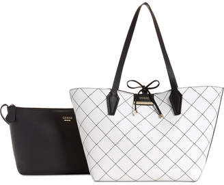 GUESS Bobbi Inside Out Reversible Tote