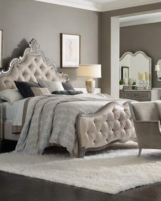 Hooker Furniture Juliet Tufted King Panel Bed