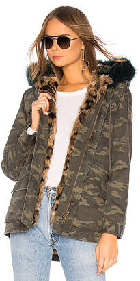 Pam & Gela Parka With Faux Fur