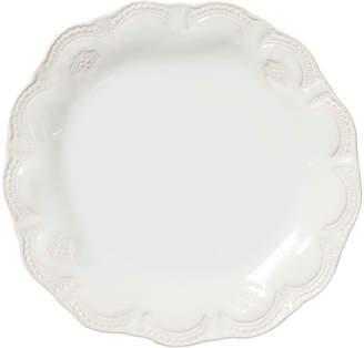 Vietri Incanto Stone Lace Dinner Plate, Linen