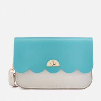 The Cambridge Satchel Company Women's Small Cloud Bag - Neon Blue/Clay