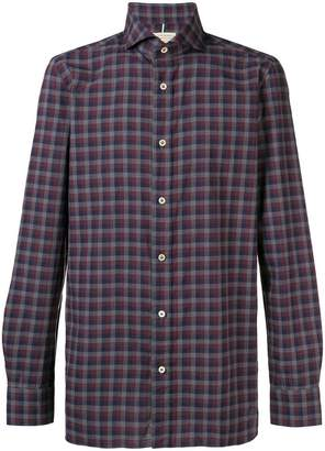Luigi Borrelli checked button-down shirt