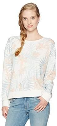 Rip Curl Women's Tropicana Printed Crew Neck Sweatshirt
