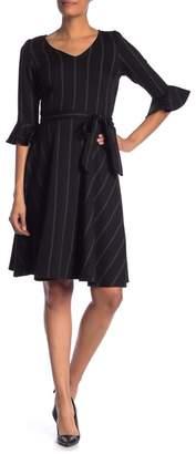 Leota Ilana Ruffle Hem Dress
