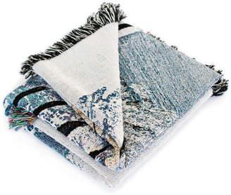 K Apostrophe Marea Woven Throw Blanket
