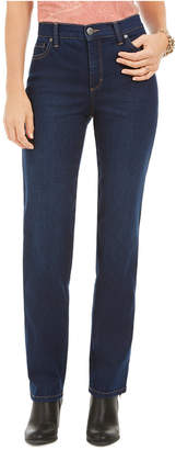 Style&Co. Style & Co Petite High-Rise Natural Straight Jeans