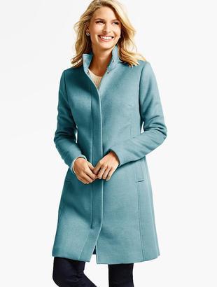 Plush Wool Coat $299 thestylecure.com