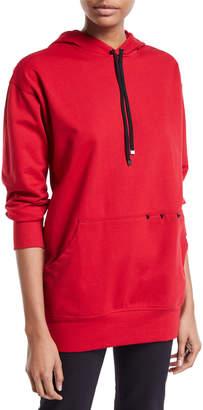 Koral Activewear Poise Hooded Cotton Sweatshirt